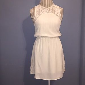 EUC ivory dress by H&M sz4